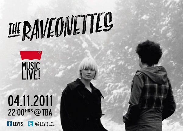 The Raveonettes en Chile! 1