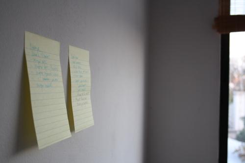 CopyPaste: post-it en la pared 1