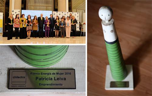 Nuestra Paty Leiva (y Michelle Bachelet!) en la premiación Energía de Mujer 2010 1