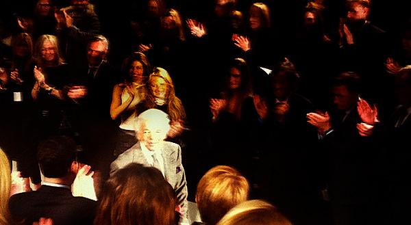 Recuento y backstage en la semana de la moda de Nueva York Otoño Invierno 2012 11