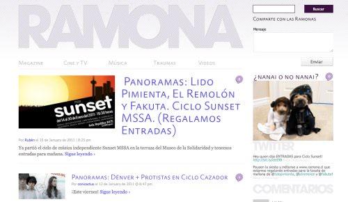 Nuevo blog: Ramona 1