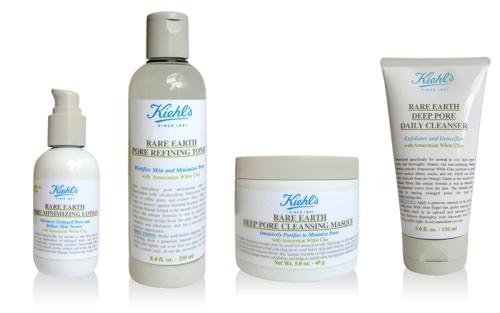Kielh's presenta su línea Rare Earth para poros obstruidos 1