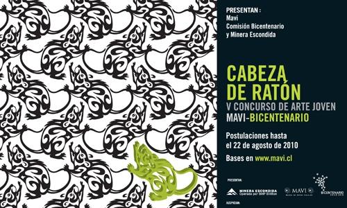 """Concurso de arte joven MAVI: """"Cabeza de Ratón"""" 2010 1"""