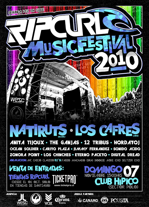 DOM/07/11 Rip Curl Music Festival 1