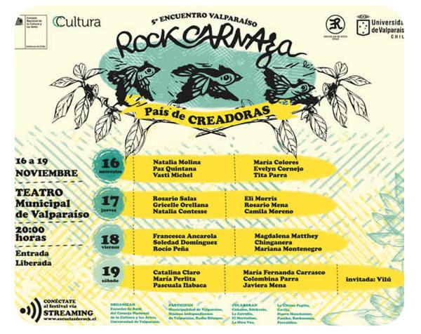 Rock Carnaza Valparaíso: sólo minas 1