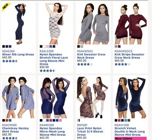 Comprar ropa por Internet 1