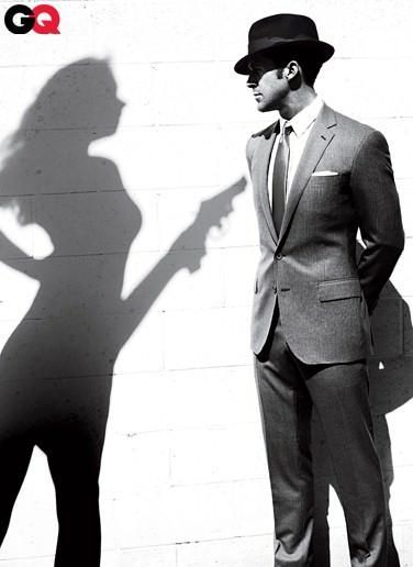 Ryan Gosling en la revista GQ: mino 2