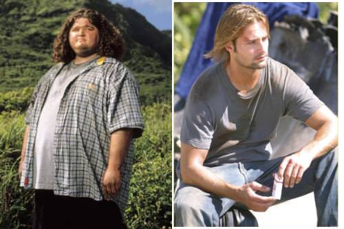 Chao Lost, chao Sawyer y Hurley 1