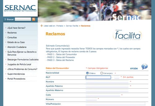 Sernac.cl: los derechos del consumidor 1