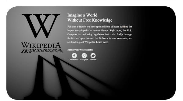 Sobre la ley SOPA y la libertad de compartir información en internet 1