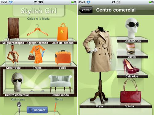Stylish Girl App para iPhone 1