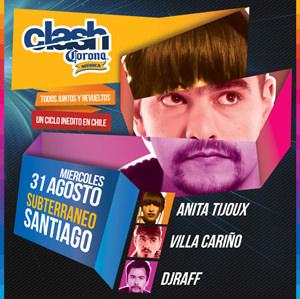 Corona Clash en Santiago 1