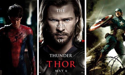 Mucho cine y superhéroes 1