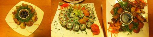 Las cenas armadas de Kudasaru Sushi 1