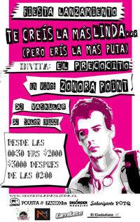 """Fiesta Lanzamiento """"Te Creis La Mas Linda... (Pero Eris La Mas Puta)"""" 1"""
