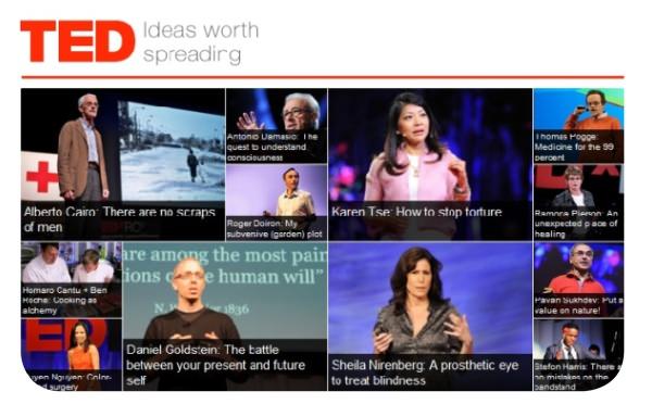 Las muy recomendables TEDTalks 1