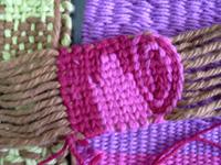 Taller de técnicas textiles en telar 1