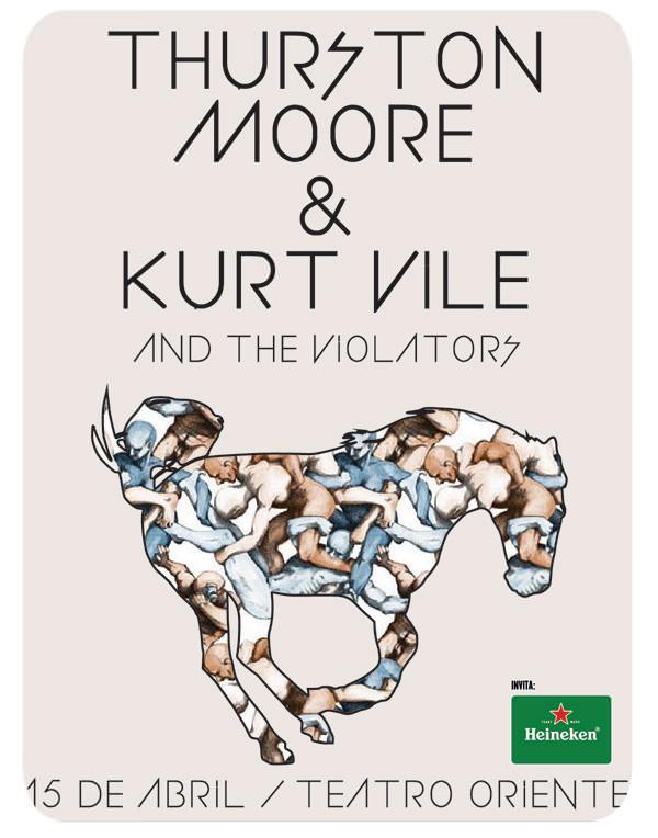 Concurso: Thurston Moore + Kurt Vile & The Violators en Teatro Oriente 1