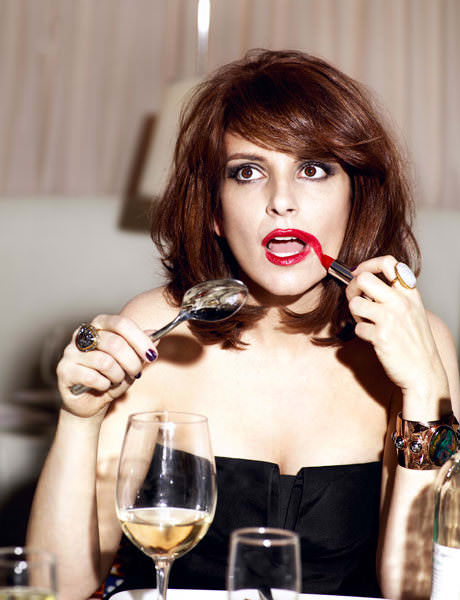 Tina Fey en revista Esquire: mina 4