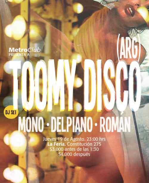 Toomy Disco 1