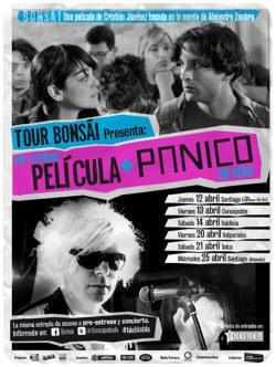 Tour Bonsái: película + Pánico en vivo en Concepción, Valdivia, Valparaíso y Talca 1