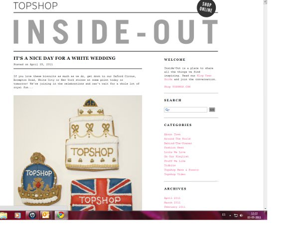 Inside-Out: El blog de Topshop 1
