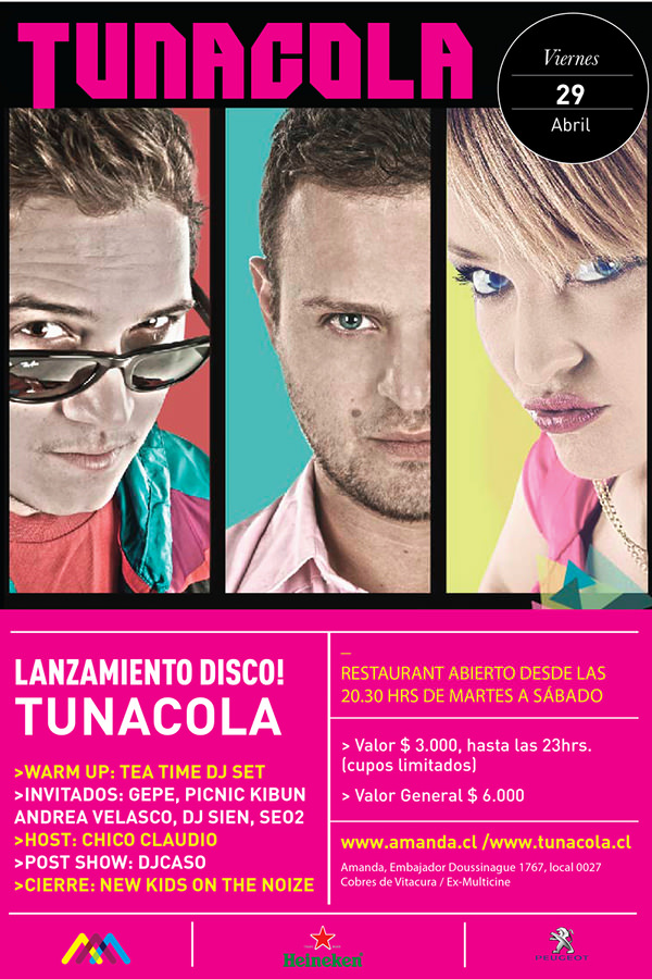 VIE/29/04 Lanzamiento disco Tunacola 1
