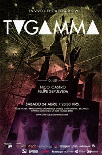 TV Gamma en vivo + fiesta post show 1