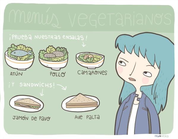 Comunes errores que se hacen -y se dicen- a los vegetarian@s 1