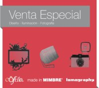 Venta Made in MIMBRE, Lomography y oOfelia 1