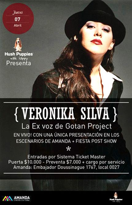 JUE/07/03 Veronika Silva ex vocalista de Gotan Project 1