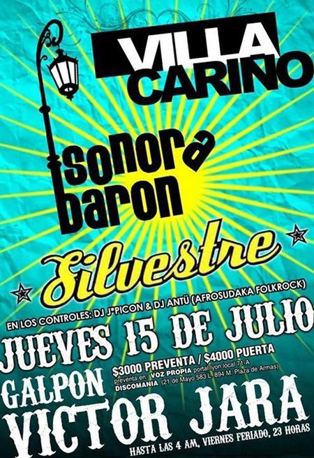 JUE/15/07 Villa Cariño, Sonora Barón y Silvestre en vivo 1