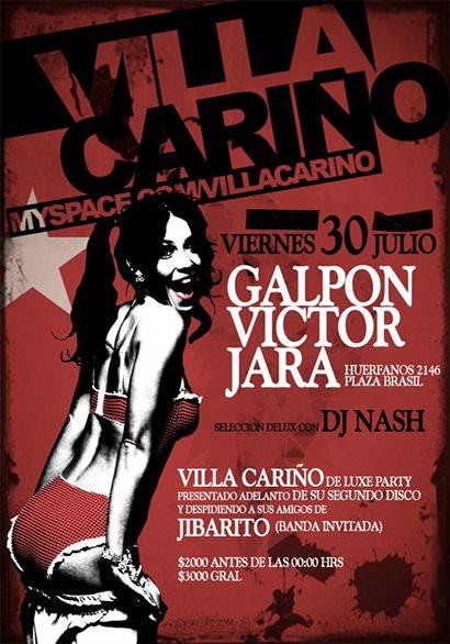 VIE/30/07 Villa Cariño en vivo 1