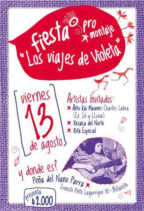 """VIE/13/08 Fiesta por-montaje """"Los Viajes de Violeta"""" 1"""