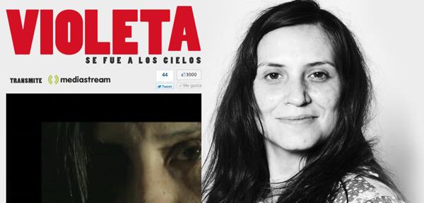 Streaming con música de Violeta Parra (se viene el estreno!) 1