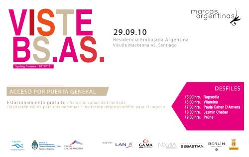 VISTE BS. AS.: desfile de marcas argentinas gratuito 1