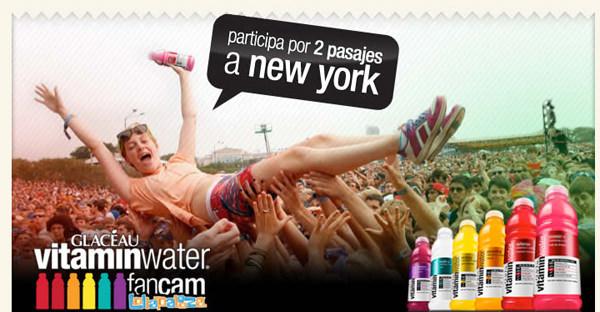Vitaminwater te invita a NY 1