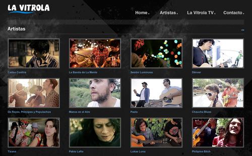 Lavitrola.cl, música y videos 1