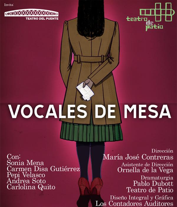 Obra: Vocales de mesa 1
