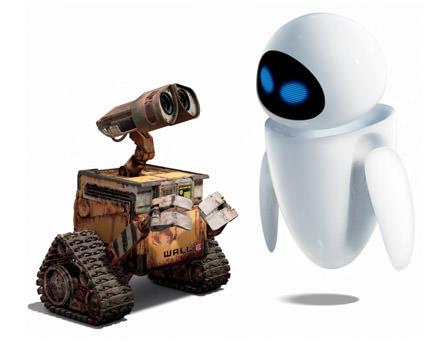Parejas del cine: Wall-e y Eve 1