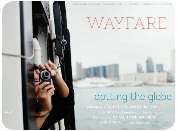 Revista online de viajes: Wayfare  1