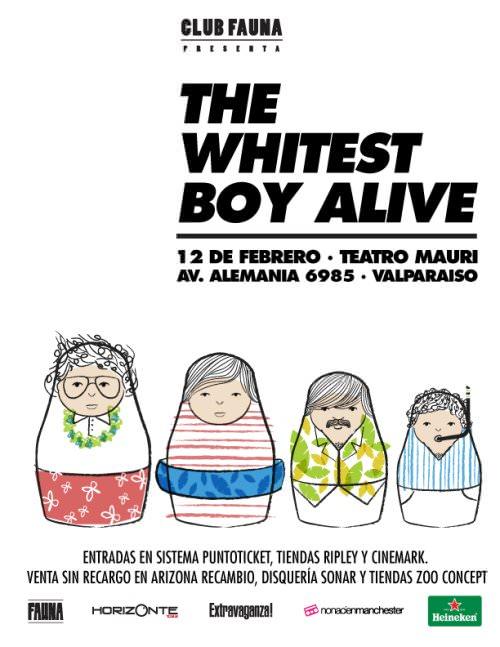 The Whitest Boy Alive en Valparaíso 1