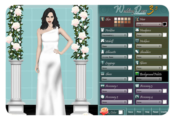 Diseñar vestidos de novia en internet 1
