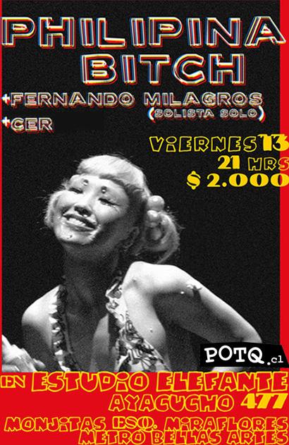 VIE/13/08 Philipina Bitch en vivo, junto a Fernando Milagros 1