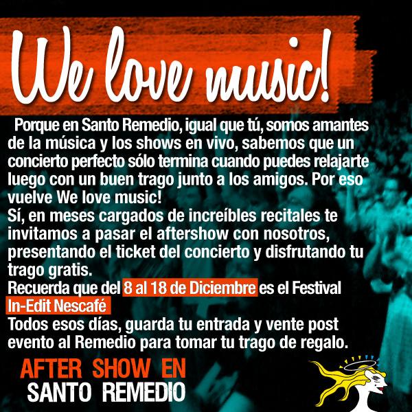 We Love Music/ Festival In-Edit 1